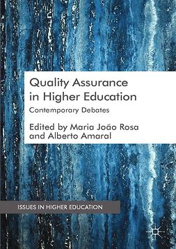 Amaral, Alberto - Quality Assurance in Higher Education, ebook