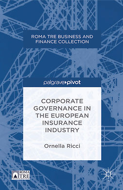 Ricci, Ornella - Corporate Governance in the European Insurance Industry, ebook