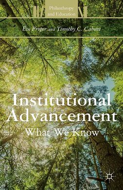 Caboni, Timothy C. - Institutional Advancement, ebook