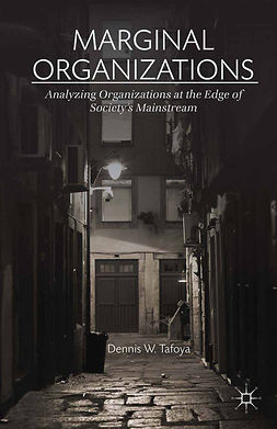 Tafoya, Dennis W. - Marginal Organizations, ebook