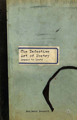 Bennett, Benjamin - The Defective Art of Poetry, ebook