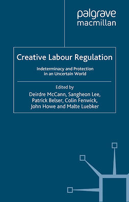 Belser, Patrick - Creative Labour Regulation, e-bok