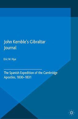 Nye, Eric W. - John Kemble's Gibraltar Journal, e-bok