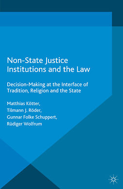 Kötter, Matthias - Non-State Justice Institutions and the Law, e-kirja