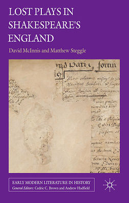 McInnis, David - Lost Plays in Shakespeare's England, e-bok