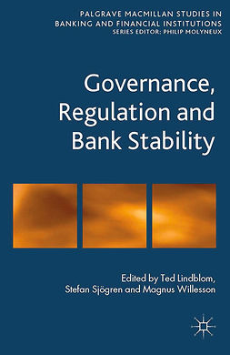 Lindblom, Ted - Governance, Regulation and Bank Stability, e-kirja