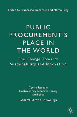 Decarolis, Francesco - Public Procurement's Place in the World, ebook