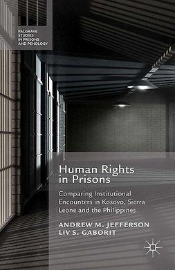 Gaborit, Liv S. - Human Rights in Prisons, e-kirja