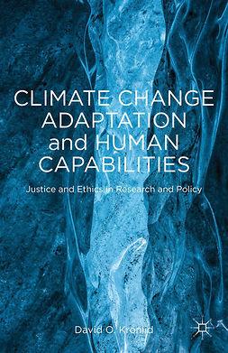 Kronlid, David O. - Climate Change Adaptation and Human Capabilities, ebook