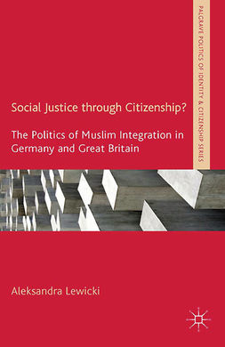 Lewicki, Aleksandra - Social Justice through Citizenship?, ebook