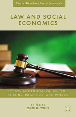 White, Mark D. - Law and Social Economics, e-kirja