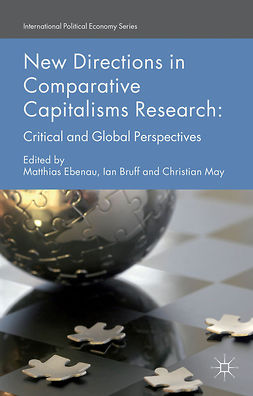 Bruff, Ian - New Directions in Comparative Capitalisms Research, e-bok