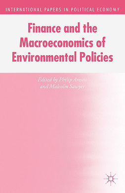Arestis, Philip - Finance and the Macroeconomics of Environmental Policies, e-bok