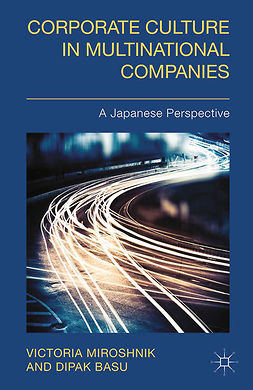 Basu, Dipak - Corporate Culture in Multinational Companies, ebook