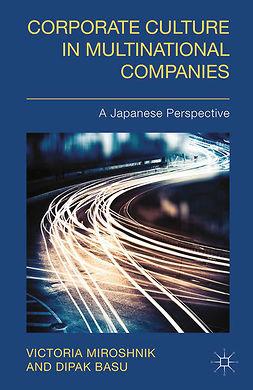 Basu, Dipak - Corporate Culture in Multinational Companies, e-bok