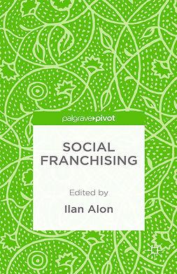 Alon, Ilan - Social Franchising, e-bok