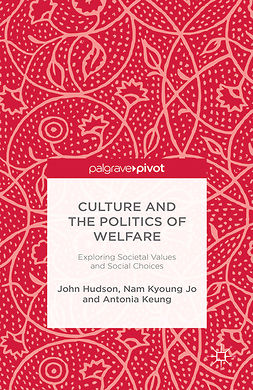 Hudson, John - Culture and the Politics of Welfare: Exploring Societal Values and Social Choices, ebook