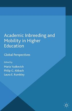 Altbach, Philip G. - Academic Inbreeding and Mobility in Higher Education, e-bok