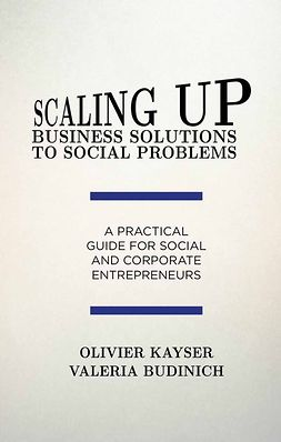 Budinich, Valeria - Scaling up Business Solutions to Social Problems, ebook