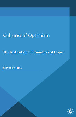 Bennett, Oliver - Cultures of Optimism, e-bok