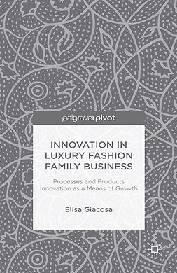 Giacosa, Elisa - Innovation in Luxury Fashion Family Business, ebook