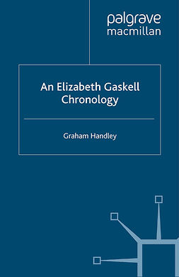 Handley, Graham - An Elizabeth Gaskell Chronology, e-bok