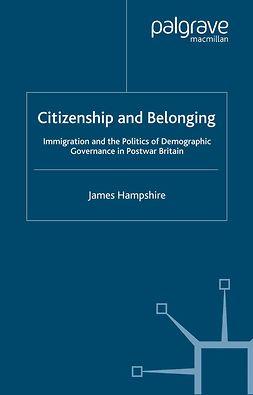 Hampshire, James - Citizenship and Belonging, ebook