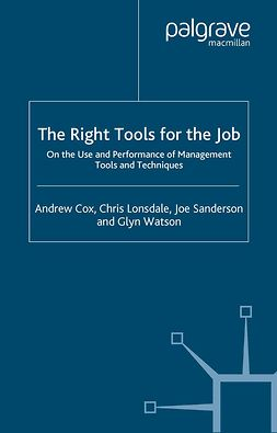 Cox, Andrew - The Right Tools for the Job, e-bok