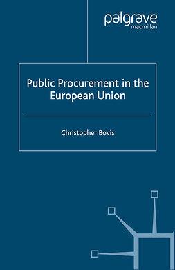 Bovis, Christopher - Public Procurement in the European Union, ebook