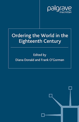 Donald, Diana - Ordering the World in the Eighteenth Century, e-bok