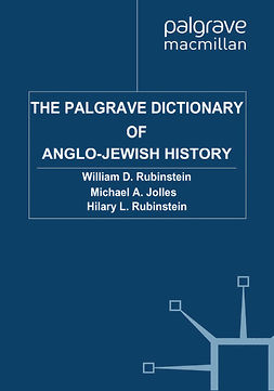 Jolles, Michael A. - The Palgrave Dictionary of Anglo-Jewish History, e-bok