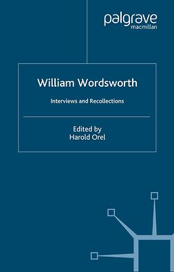 Orel, Harold - William Wordsworth, ebook