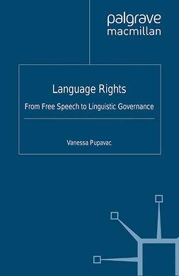 Pupavac, Vanessa - Language Rights, e-kirja