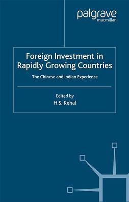 Kehal, Harbhajan S. - Foreign Investment in Rapidly Growing Countries, e-bok