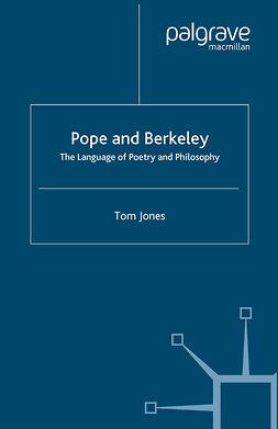 Jones, Tom - Pope and Berkeley, e-kirja