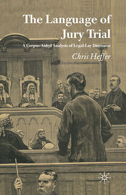 Heffer, Chris - The Language of Jury Trial, e-kirja