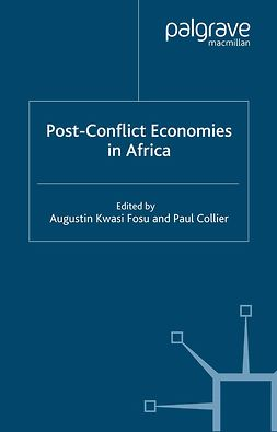 Collier, Paul - Post-Conflict Economies in Africa, e-bok