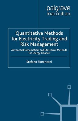 Fiorenzani, Stefano - Quantitative Methods for Electricity Trading and Risk Management, ebook