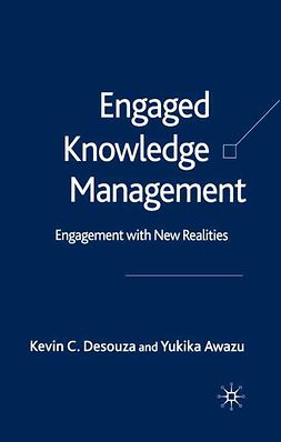 Awazu, Yukika - Engaged Knowledge Management, ebook
