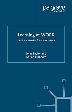 Furnham, Adrian - Learning at Work, e-kirja