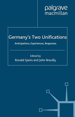 Breuilly, John - Germany's Two Unifications, ebook