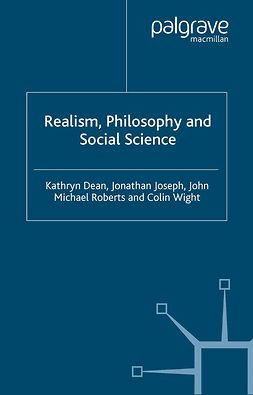 Dean, Kathryn - Realism, Philosophy and Social Science, ebook