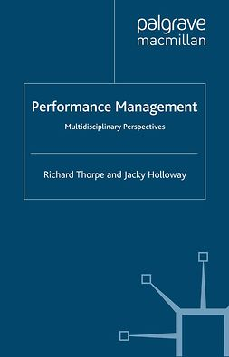 Holloway, Jacky - Performance Management, e-bok