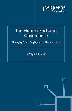 McCourt, Willy - The Human Factor in Governance, ebook