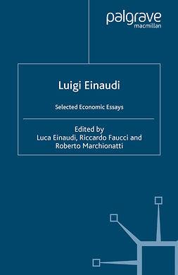 Einaudi, Luca - Luigi Einaudi, ebook