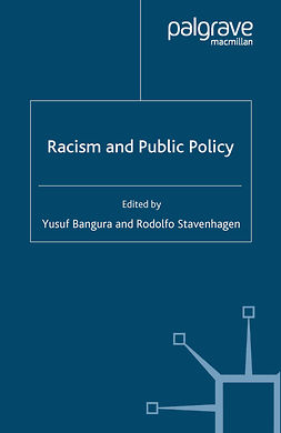 Bangura, Yusuf - Racism and Public Policy, ebook