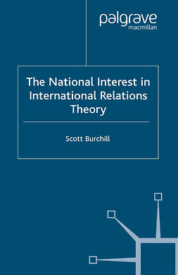 Burchill, Scott - The National Interest in International Relations Theory, e-bok
