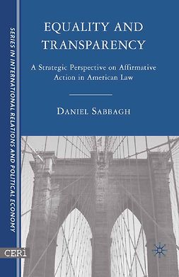 Sabbagh, Daniel - Equality and Transparency, ebook