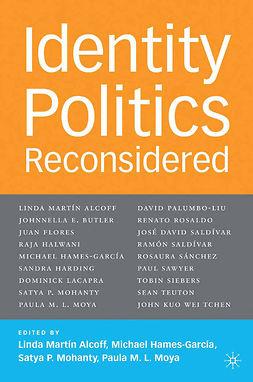 Alcoff, Linda Martín - Identity Politics Reconsidered, ebook