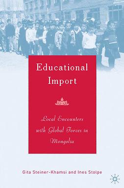 Steiner-Khamsi, Gita - Educational Import, ebook